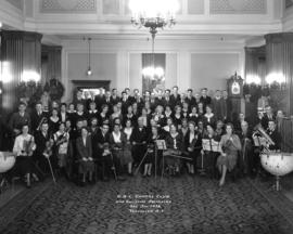 H.B.C. Choral Club and Assisting Orchestra - Dec. 17th, 1932 - Vancouver, B.C.