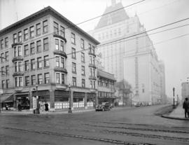 Western Photo building [at 787] Hornby Street from Robson Street