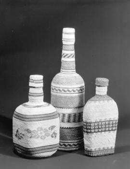 Lipsett Museum [display] at the Vancouver Exhibition: Bottle Covers