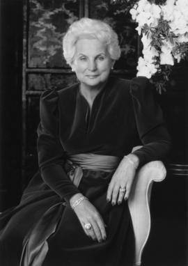 Portrait of Governor General Jeanne Sauvé