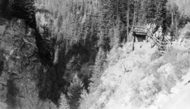 The lookout, Albert Canyon, C.P.R.