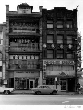 Chinese Benevolent Association building and Ho-Ho Chop Suey