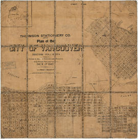 Plan of the City of Vancouver