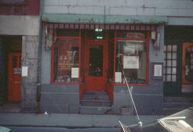 Exterior of import shop in Montreal Chinatown