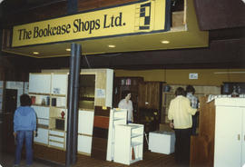 The Bookcase Shops Ltd. Display booth