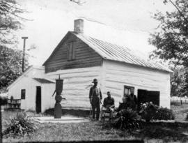 [The old first Hamilton's farm house in Huron Township, Bruce County, Ontario]