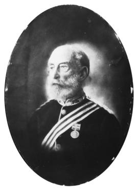 [Head and shoulders portrait of] Col. F. S. Barwis [in uniform]