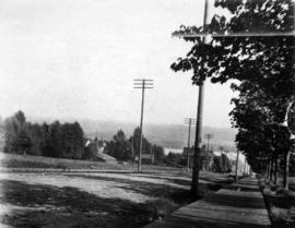 [View of 6th Street near Queens Avenue looking south toward Royal Avenue]