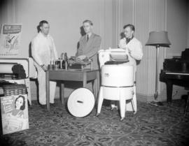 [Beatty appliances demonstration at a sales convention at the Hotel Georgia]