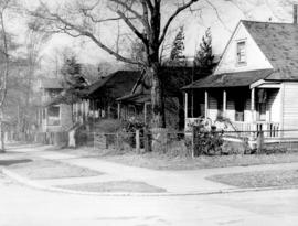 [Residences in the 1700 block of Burnaby Street]