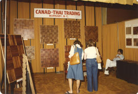 Canad-Thai Trading display booth