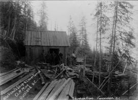 Blacksmith Shop and Lower Tunnel Cliff Mine, Rossland, B.C.