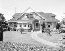 Mrs. W.S. Crowe's house [at 4637 Angus Drive]