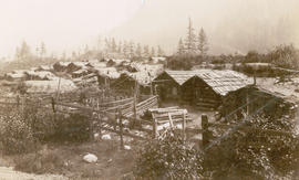 Chinese Winter Quarters near North Bend, B.C.
