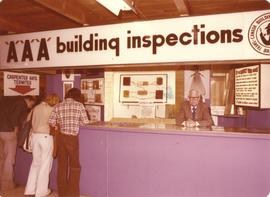 AAA Building Inspections display booth
