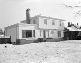 [Exterior view of a newly constructed house]