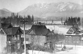 [View looking west from the residence of E.B. Herman at 1287 Robson Street]