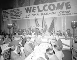 "Board of Trade ""Bar-de-cew"" party"
