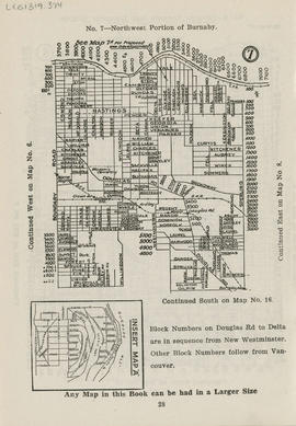 Sectional map and street directory of Vancouver, British Columbia : [Sperling Avenue to Yale Stre...