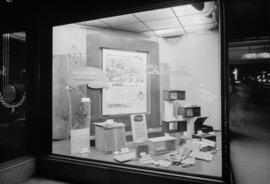 B.C.E.R. Co. Display Dept. - Chisolm window