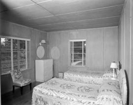 [Bedroom in a guesthouse on Bowen Island]