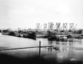 [View of West Coast Shipbuilders Limited from the water]