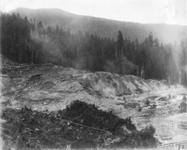 Coquitlam Dam, view showing dam site