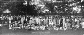 Annual Picnic Vantruba Social and Welfare Club Bowen Island July 16th 1927