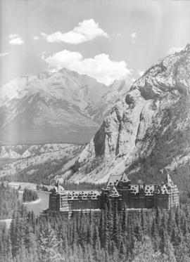 [View of the] Banff Springs Hotel