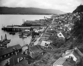 Ketchikan nestled at the foot of Deer and Doe Mountains, presents a picturesque frontier town app...