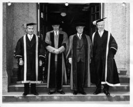 University of British Columbia honorary degree recipients and officials