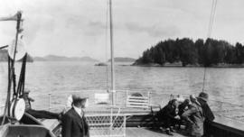 West Coast trip [with Sherwood Lett, Arthur Lord, W.O. Banfield] : Barclay Sound