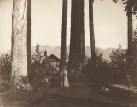 [Near the observation point (summer house) at Prospect Point]