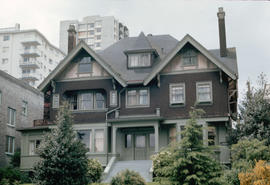 [House at] 1860 Robson [Street]
