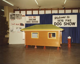 1976 P.N.E. Dog Show dream dog house