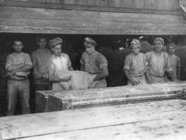 [Making bread dough on the Western Front]