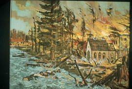 The Vancouver fire of 1886