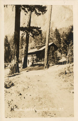 """Stuie Lodge,"" Bella Coola, B.C."