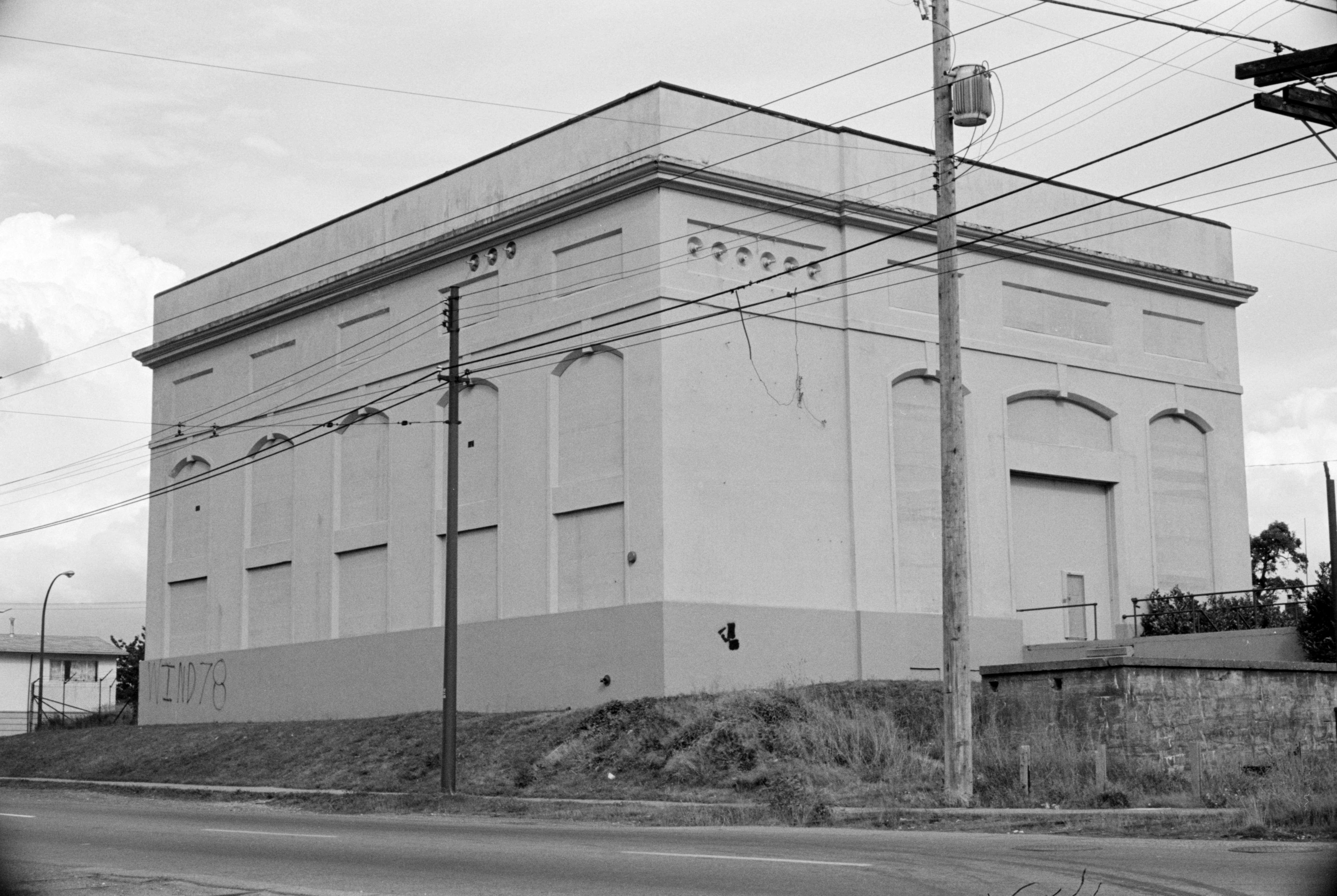 B C  Hydro Substation, Earles and Van Ness [4590 Earles