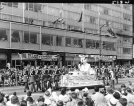 B.C. Electric float in 1959 P.N.E. Opening Day Parade