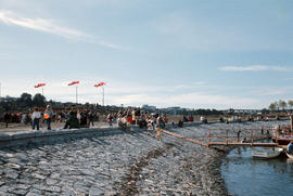 False Creek - Seawall - official opening