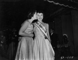 Miss Vancouver being congratulated by previous winner