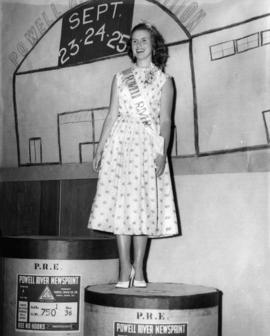 Portrait of Miss Powell River 1954