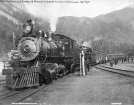 Royal Train at Field, B.C.