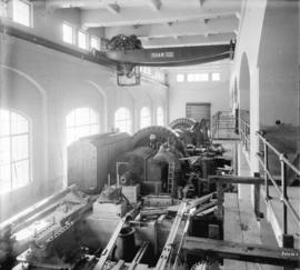 [Partially constructed generator room for Buntzen Lake Power Plant number two]
