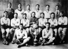 [Chinese Students' Athletic Association soccer team]