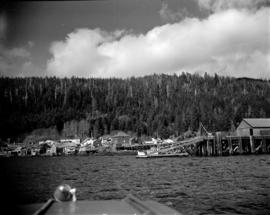 Waterfront at Pacific Mills [on the] Queen Charlotte Islands