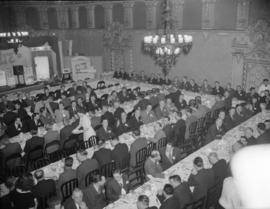 [Banquet at a sales convention at the Hotel Georgia]