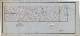 Topographical map of T.L.3723. Phillips River, Phillips Arm, Range 1, Coast District, B.C
