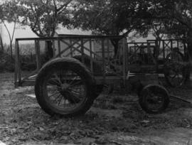 Cane cars etc., pressed steel, cart for sugarcane